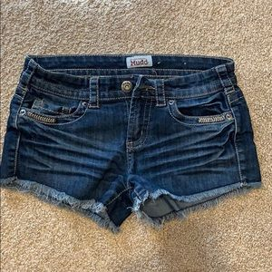 Mudd Low Waisted Jean Shorts Size 3